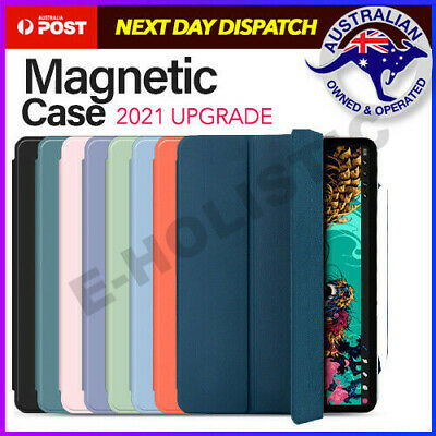 AU28.95 • Buy Magnetic Smart Case Cover Pencil For New IPad Pro 11 12.9 Inch Case 2021 2020