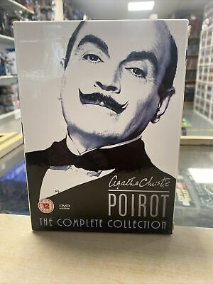 £35 • Buy Poirot - Agatha Christie's Poirot - Complete Collection (DVD, 2005, 20-Disc...