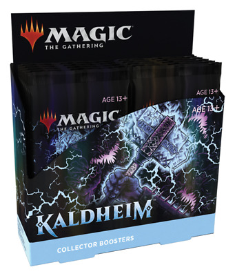 £130.17 • Buy Magic The Gathering MTG: Kaldheim Collector Booster Box Factory Sealed 12 Packs!