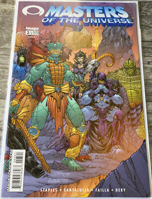 $24.99 • Buy MASTERS OF THE UNIVERSE #3 (2002) Image NEWSSTAND Variant B He-Man RARE Scarce !