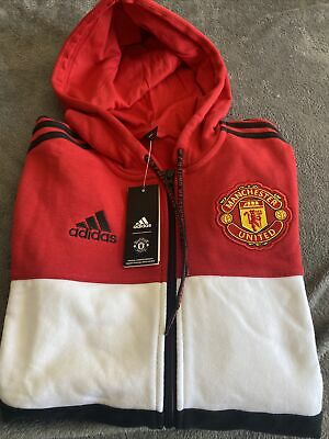 £26 • Buy Men's Adidas Manchester United Track Top Hoodie Size Uk Small. Brand New Tags