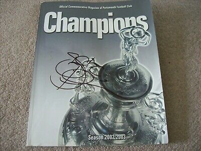 £24.99 • Buy Portsmouth Fc - Division One Champions 2002/2003 Book, Signed