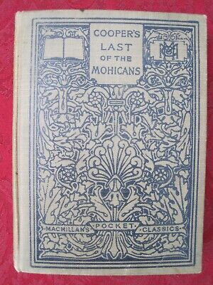 $19.99 • Buy Cooper's Last Of The Mohicans 1910 Macmillan Pocket American & English Classics