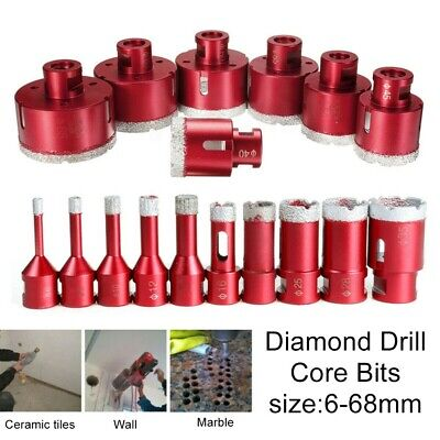 £15.61 • Buy Diamond Cutter Coated Core Hole Saw Set Hole Saw Drill Bit Tile For Glass Marble
