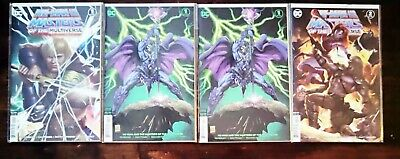 $30 • Buy He-man Masters Of The Universe  DC Comics #1 Main + Variant(×2)  & #2- 4 Books