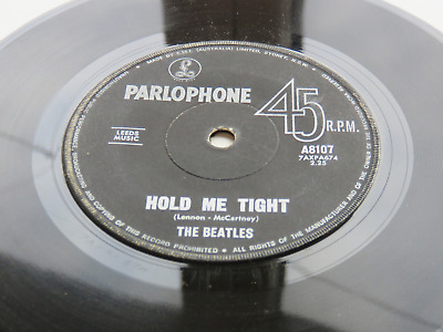 £14.99 • Buy The Beatles 1964  Australian  45  Hold Me Tight   Roll Over Beethoven