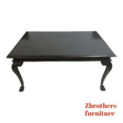 $2079 • Buy Antique Mahogany Ball Claw Chippendale Banquet Conference Dining Room Table