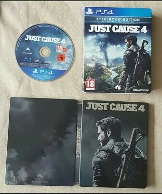 £10 • Buy PS4 Game - Just Cause 4 - Steelbook Edition (2018)