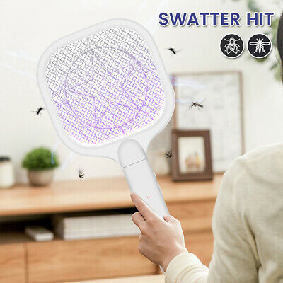 £9.89 • Buy Electric Fly Insect Bug Zapper Racket Swatter Mosquito Wasp Pest KIller Trap UK
