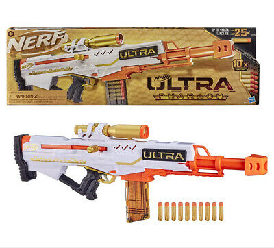 AU94.72 • Buy Kid Gift Nerf Ultra Pharaoh Blaster With Premium Gold Accents + 10 Special Darts