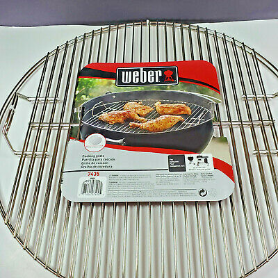 $ CDN68.62 • Buy Weber Replacement Cooking Grate For 22 Kettle Grill 2 PACK Bundle