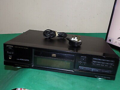£19.99 • Buy AIWA Vintage CD Compact Disc Player XC-300K Black Made In Singapore FAULTY SPARE