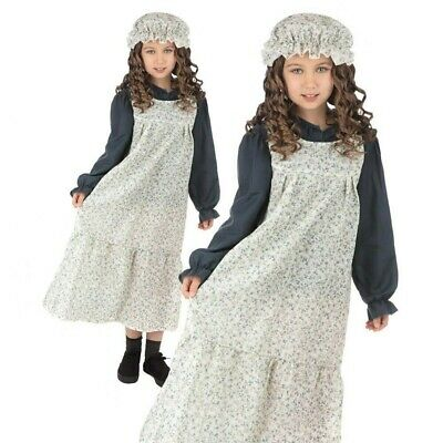 $36.60 • Buy Childs Victorian Maid Classic Costume Kids Poor Book Week Day Fancy Dress Outfit