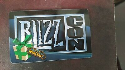 £722.82 • Buy BLIZZARD WoW Loot Card - Blizzcon 2008 Polar Bear Mount Loot -Unscratched