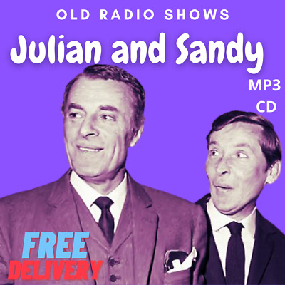 £3.99 • Buy Julian And Sandy 24 Old Time Radio Shows Kenneth Williams Mp3 Cd