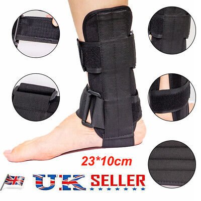 £8.99 • Buy Breathable Foot Drop Orthosis Ankle Brace Support Protection Sprain Splint UK