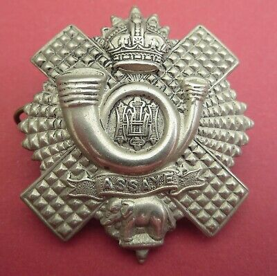£5 • Buy The Highland Light Infantry British Army/Military Hat/Cap Badge
