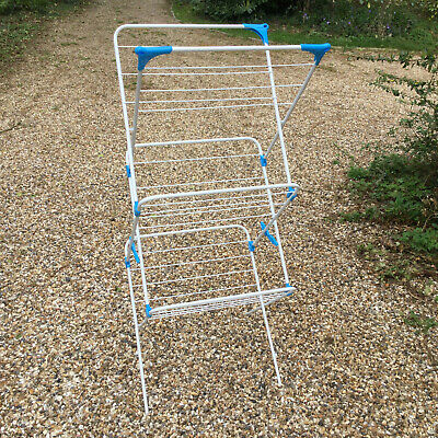 £12 • Buy Minky Dry Trio 15m White Indoor Clothes Airer (three Tier Folding Drying Rack)