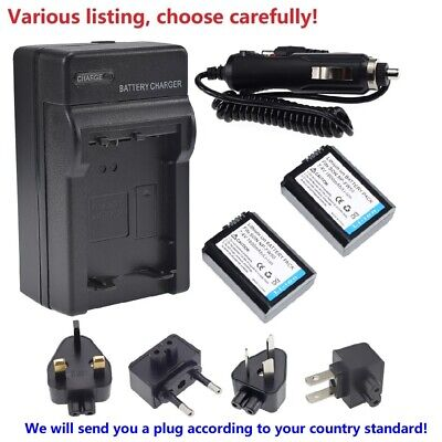 $ CDN21.29 • Buy Battery Or Wall&Car Charger For Sony NP-FW50 BC-VW1 & ILCE-6000 Alpha A6000 New