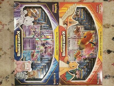 $399.95 • Buy Pokemon XY Evolutions Kanto Power Collection Box Set - Lot Of 2 Factory Sealed