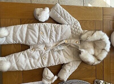 £18 • Buy River Island Baby Snowsuit 0-3 Month