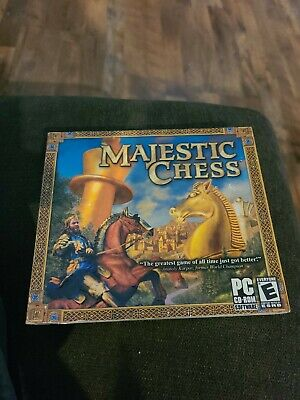 $7 • Buy Majestic Chess (PC, 2003), Windows 98/ME/2000/XP Clean Disc CD-ROM GAME
