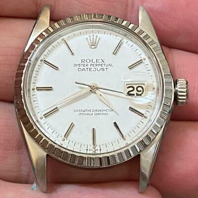 $ CDN3524.78 • Buy Rolex Datejust Reference 1603 Vintage Watch 100% Genuine 36mm Fully Serviced