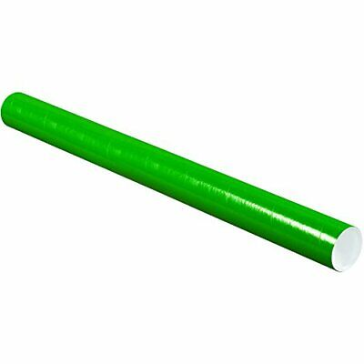 $114.70 • Buy Tape Logic TLP3036G Mailing Tubes With Caps 3  X 36  Green Pack Of 24