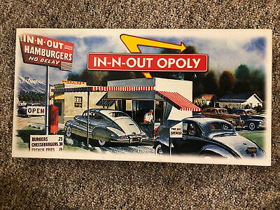 £69.08 • Buy Monopoly IN-N-OUT Opoly Rare Board Game Collectors Edition Complete