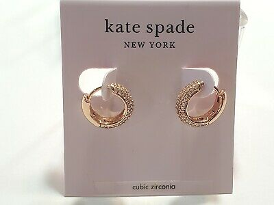 $ CDN18.88 • Buy Kate Spade Earrings $48 Rose Gold Tone New Over Stock With Tags