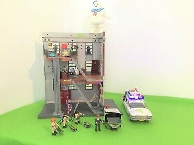 £31.01 • Buy Playmobil Ghostbusters Bundle Firehouse 9219,ecto 1 9346,stay Puft 9348,playgram