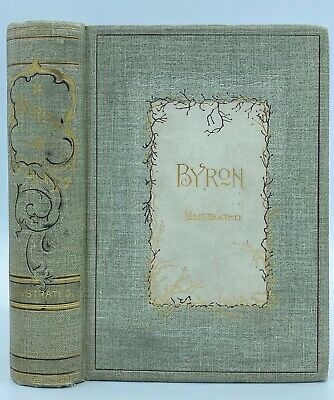£28.36 • Buy 1892 LORD BYRON Poems & Dramas, Illustrated W Engravings Decorative Antique Book