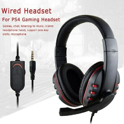 AU18.99 • Buy Gaming Headset USB Wired LED Headphones Stereo With Mic For PC Desktop Laptop AU
