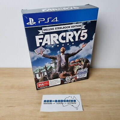 AU39.90 • Buy Far Cry 5 Deluxe Steelbook Edition - PS4 Sony PlayStation 4 R4 AUS PAL Farcry