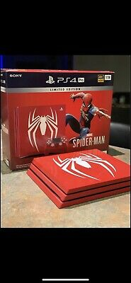 AU700 • Buy PS4 Pro Limited Edition Marvel Spider Man 1TB (Includes 4 PS4 Games)