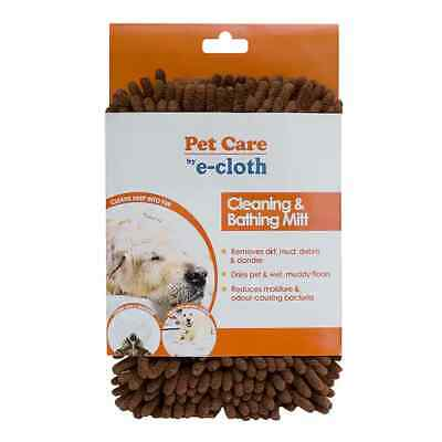 £8.95 • Buy E-Cloth Pet Cleaning And Bathing Mitt Removes Dirt,Mud,Debris Dries Muddy Pets