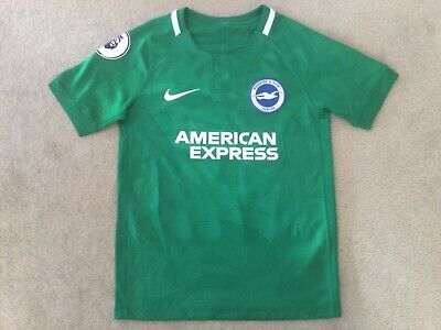 £0.01 • Buy Brighton & Hove Albion Away Shirt Size 's Boys' Gross 13 Nike No Reserve