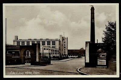 £15 • Buy Irlam, C.W.S. Soap Works - Near Salford - Printed Photographic Postcard