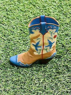 £9.99 • Buy Just The Right Shoe Ornament - Home On The Range 1999 Cowgirl Boot Item No 25095
