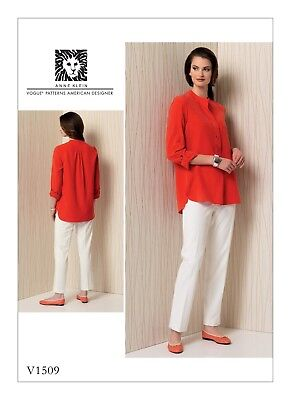 £10.40 • Buy Vogue SEWING PATTERN V1509 Misses Tunic & Trousers/Pants 6-14 Or 14-22