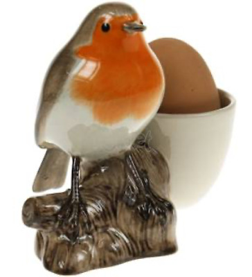 £16.50 • Buy Quail Ceramics    Egg Cup With Robin