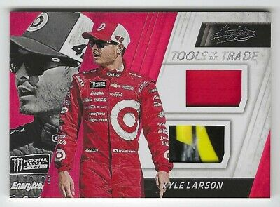 AU8.08 • Buy Kyle Larson 2017 Panini Absolute Tools Of The Trade Race-used Material Card /99