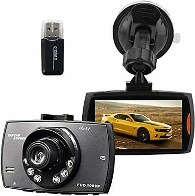 AU48.56 • Buy Full HD 1080P Dash Cam For Car, 170°Wide Angle Dash Front And Rear Camera With