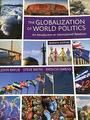 £9.50 • Buy The Globalization Of World Politics An Introduction To International Relations