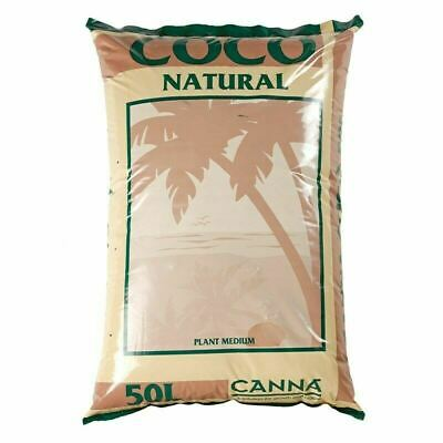 £15.98 • Buy Hydroponic Canna Coco Natural 50L 10 25 50 Litre Coir Growing Medium Bag