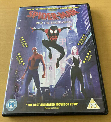 £2.25 • Buy Spider-man Into The Spider-verse (dvd, 2018) Marvel Animated Cartoon Family Fun