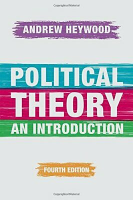 £77.74 • Buy Political Theory: An Introduction-Andrew Heywood, 9781137437273