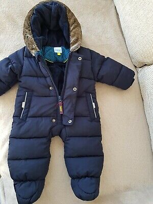 £16 • Buy Baby Boys Ted Baker 0-3 Months Nwotgs Navy Blue Padded With Hood