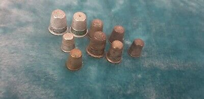 £7 • Buy Set Of Vintage Thimbles Good Condition