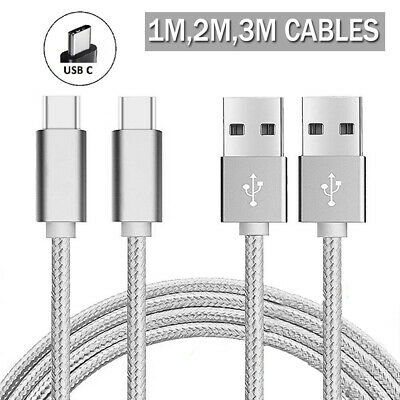 AU2.25 • Buy Fast Charging USB C Type C Data Phone Charging Cable 1M 2M 3M For Samsung Huawei
